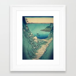 Pathway to Yuge Framed Art Print