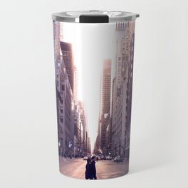Sunset Avenues Travel Mug