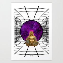 Nirvana Shopping Art Print