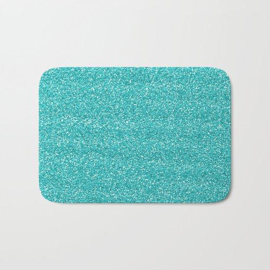 Sea Glitter Bath Mat