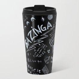 Big Bang Pattern Travel Mug