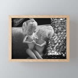 Girlfriends. Framed Mini Art Print