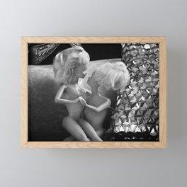 Girlfriends. Framed Mini Art Print