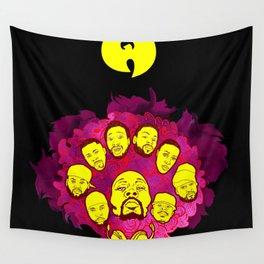 Wu-Tang Purple Haze Wall Tapestry