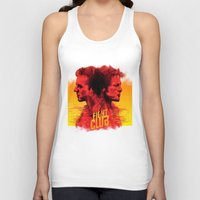 fight Tank Tops featuring fight  by İsmail Kocabas