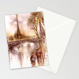 Spring in Paris Stationery Cards