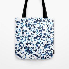 Berries Black and Blue Tote Bag