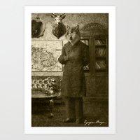 Dark Victorian Portraits: The Hunter Art Print