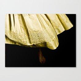 dancing feet Canvas Print