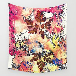 Sunset fall Wall Tapestry