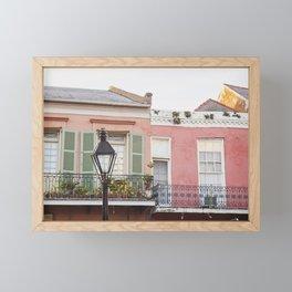 New Orleans Golden Hour in the Quarter Framed Mini Art Print