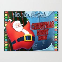 Christmas Merry Merry Canvas Print
