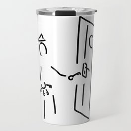 prison attendant prisoner warder Travel Mug