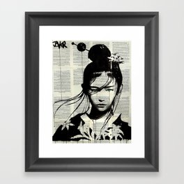 NARUMI Framed Art Print