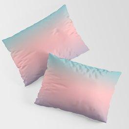 081 Teal Peach and Purple Gradient Pillow Sham