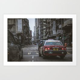 Hong Kong Street Art Print