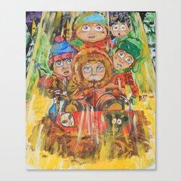 South Park Gang Canvas Print
