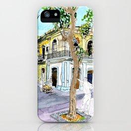 View from Parque Cristo, Habana Vieja, Cuba iPhone Case