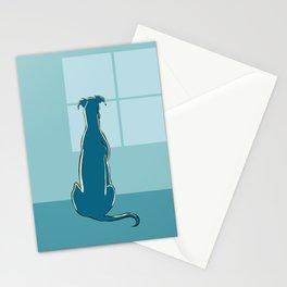 Waiting Greyhound Stationery Cards