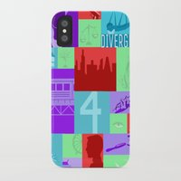 divergent iPhone & iPod Cases featuring Divergent Collage by anthony m sennett