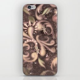 Baroque Dragon fly iPhone Skin