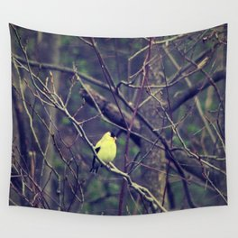 I Spy a Goldfinch Wall Tapestry