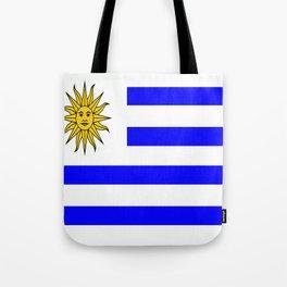 Flag of Uruguay Tote Bag