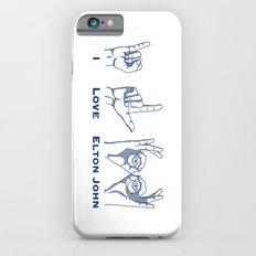 I Love Elton V2 iPhone 6s Slim Case