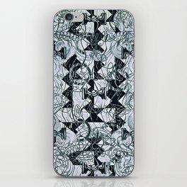 Black Burros iPhone Skin
