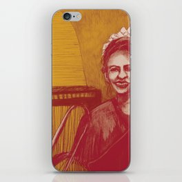 The vocalist iPhone Skin