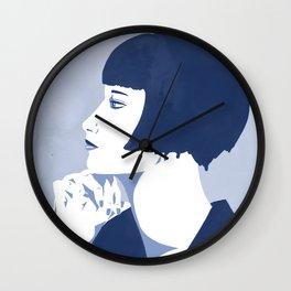 Louise Brooks - Silent Film Star Wall Clock