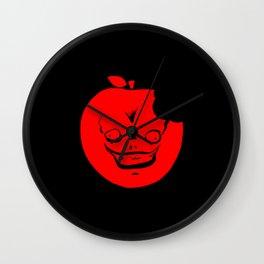 Shinigami Apple Wall Clock