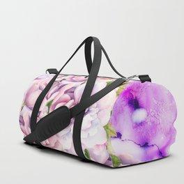 alcohol inks bouquet Duffle Bag