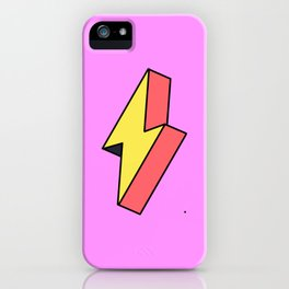 Thunderbolt iPhone Case