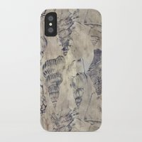 shells iPhone & iPod Cases featuring Shells  by Laura Braisher