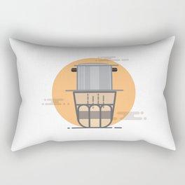 Vietnam Coffee Rectangular Pillow