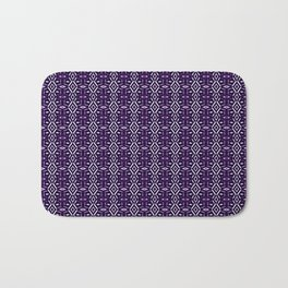 Meshed in Purple Bath Mat