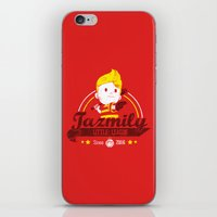league iPhone & iPod Skins featuring Tazmily little league by TeeKetch
