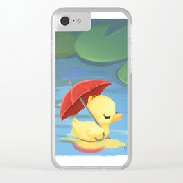 One of a Kind Clear iPhone Case