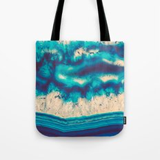 Blue Agate Water Element Tote Bag