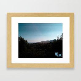 Outfield Framed Art Print