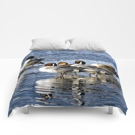 Northern Pintails Comforters