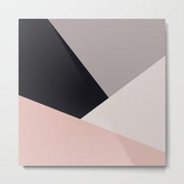 Elegant & colorful geometric Metal Print
