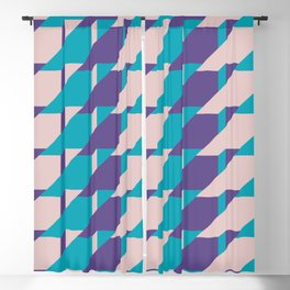 Abstract Glow #society6 #glow #pattern Blackout Curtain