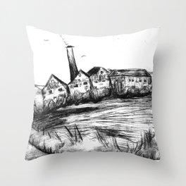 Seek a stinging Throw Pillow