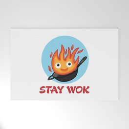 Stay Wok Welcome Mat