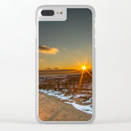 Pure Fire Clear iPhone Case
