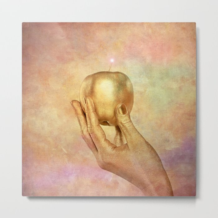 THE GOLDEN APPLE - Abduction from paradise Metal Print