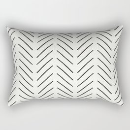 Arrow Tip Pattern Rectangular Pillow