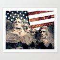 Patriotic Mount Rushmore by politics